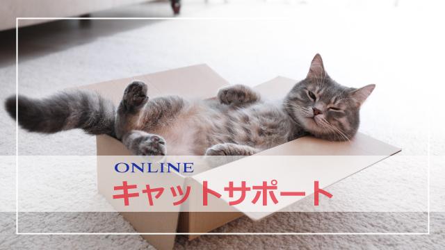 オンライン キャットサポート